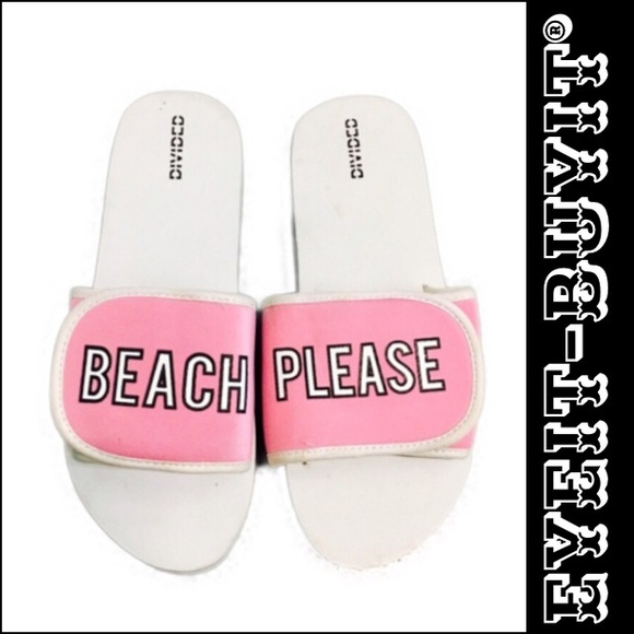 fe706b239 H M Beach Please Flip Flops